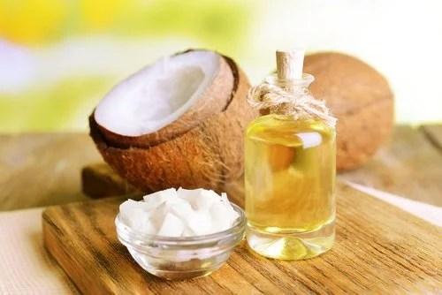 Olio di cocco-