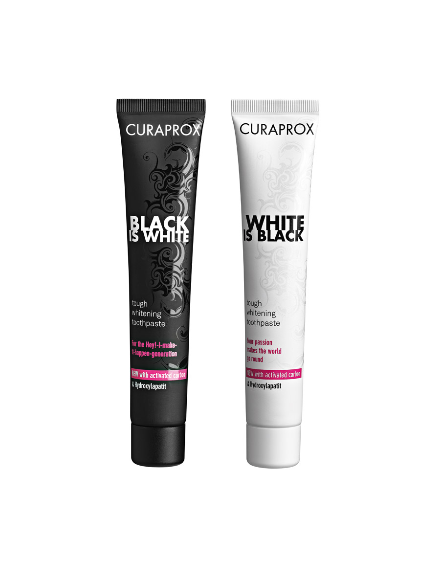 Curaprox Black is White