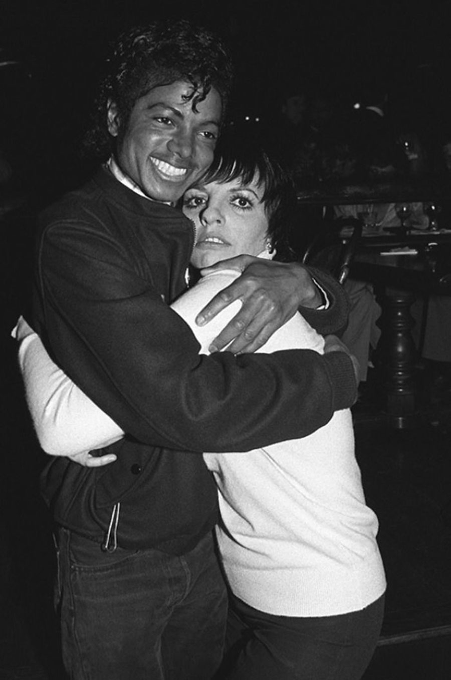 Michael Jackson and Liza Minnelly 1980