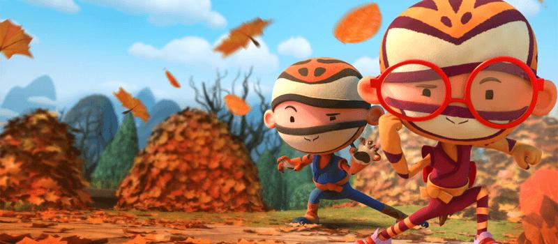 Olá, filmes de animação ninja e séries de TV chegando à netflix em 2021 e além