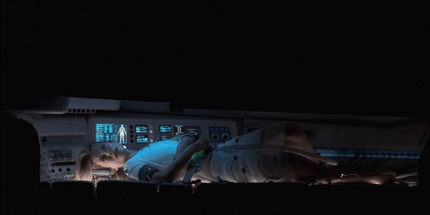 O thriller francês Oxygen chegará ao Netflix em maio de 2021. Melanie Laurent Cryogenic Chamber