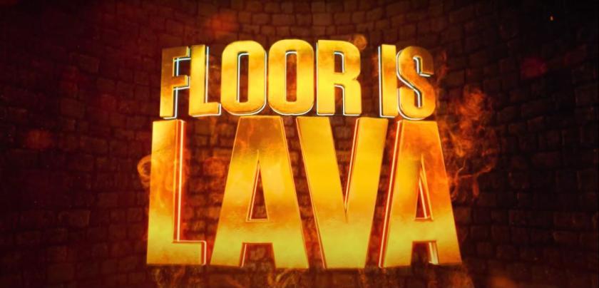 Logotipo da FloorIsLava Netflix