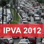 Tabela IPVA 2012 São Paulo