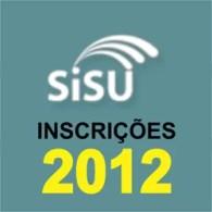 Inscrição SiSU 2012