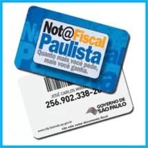 Cartão Nota Fiscal Paulista