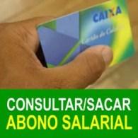 Sacar consultar dinheiro abono salarial