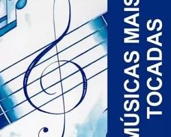 Músicas tocadas 2012