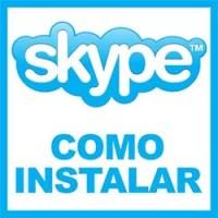 como instalar Skype tutorial