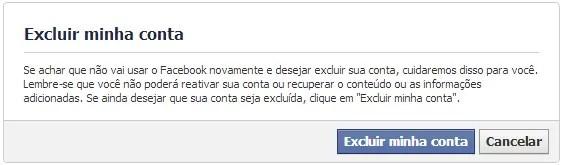 Excluir Facebook Definitivamente Sempre