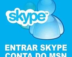 Entrar Skype Hotmail MSN Messenger