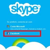 Conectar Skype Facebook