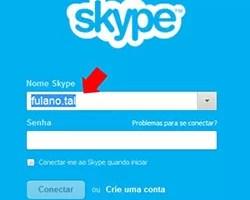 Apagar Nome Skype