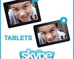 Skype tablet Android iPad