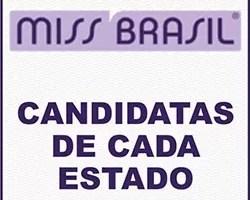 Miss Brasil 2013 Candidatas