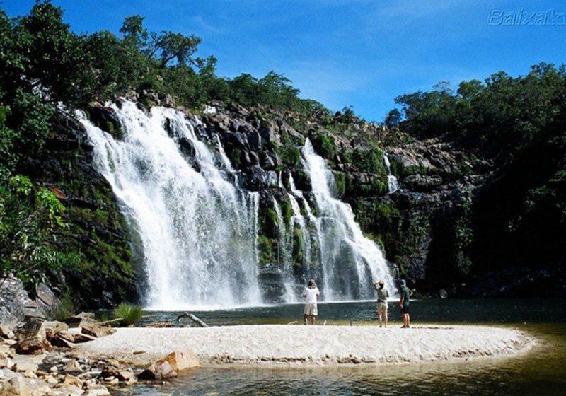 Cachoeira Poço Encantado - Alto Paraíso De Goiás - GO