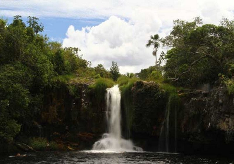Cachoeira De São Bento - Alto Paraíso De Goiás