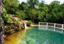 Natureza e águas termais próximo a cuiabá
