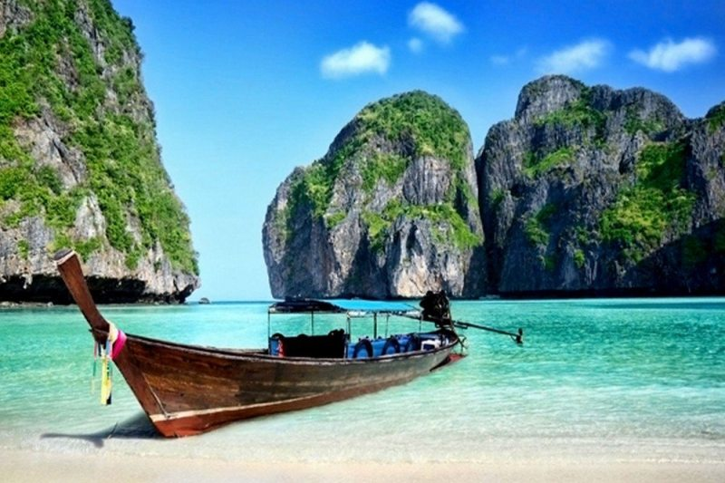 A Praia – Ko Phi Phi Lay - Maya Bay – Tailândia