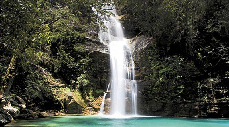 Cachoeira Santa Bárbara, Cavalcante – GO