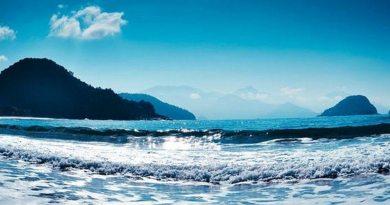 Praia das toninhas atrai pela estrutura em ubatuba