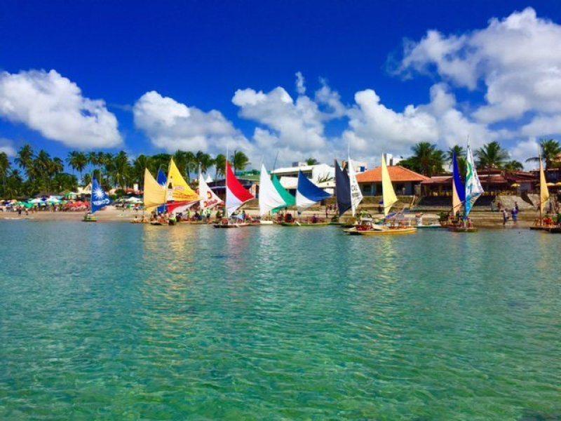 Porto de Galinhas, paraíso de praias de areia branca e céu azul