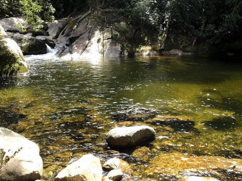Cachoeira Em Barra Do Una