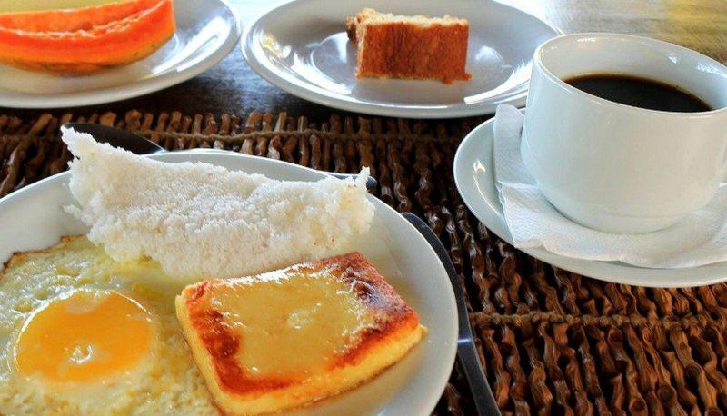 Tradicional Café Da Manhã Em Galinhos