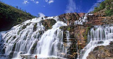 Cachoeira Na Chapada Dos Veadeiros