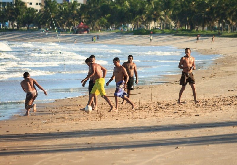 Futebol Na Praia, Cabedelo