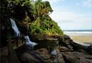 Praia Do Iporanga No Guarujá, Paraíso Com Mar E Cachoeira.
