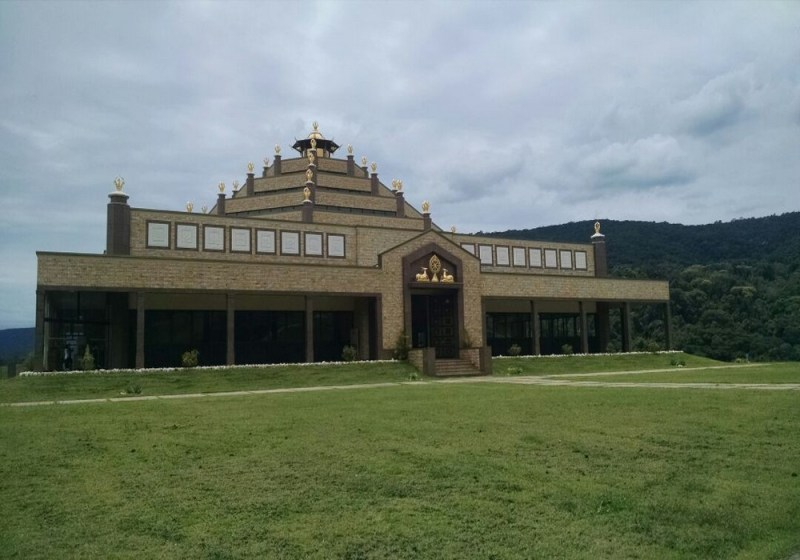 Templo Budista Kadampa Em Cabreúva
