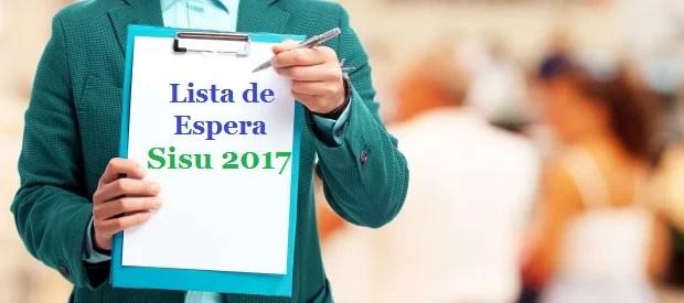 lista de espera sisu 2017 enem 2016