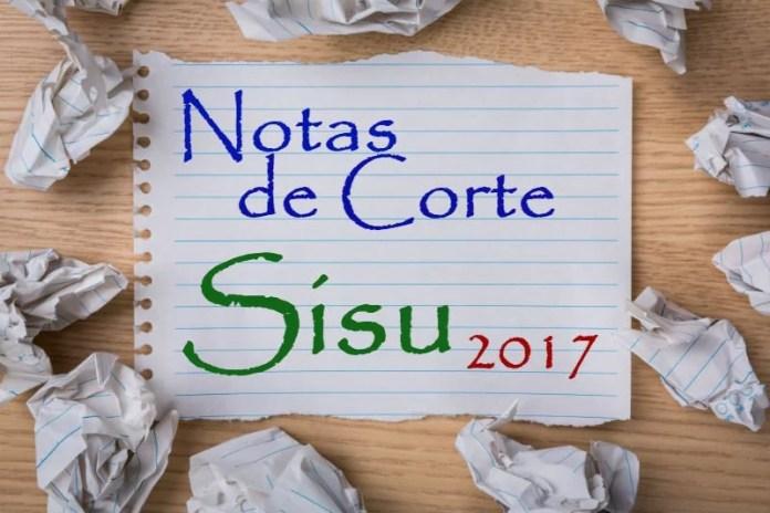 Notas de corte UESB Sisu 2017 Segundo Semestre