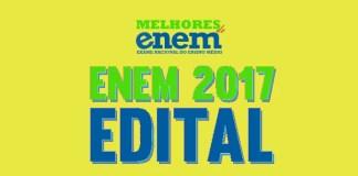 edital enem 2017