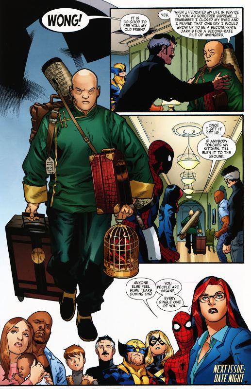 New Avengers Wong