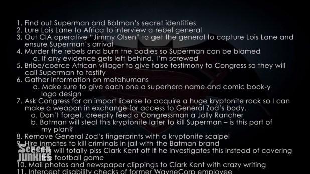 plano do lex luthor