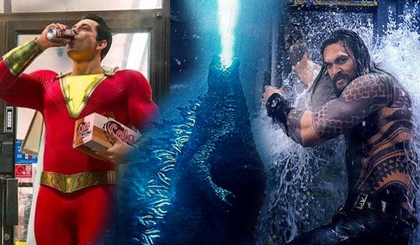 Aguaman, Capitão Fraldinha e Godzilla II: Vamo Matá tudo mundo - os Trailers (que eu me importo) da SDCC