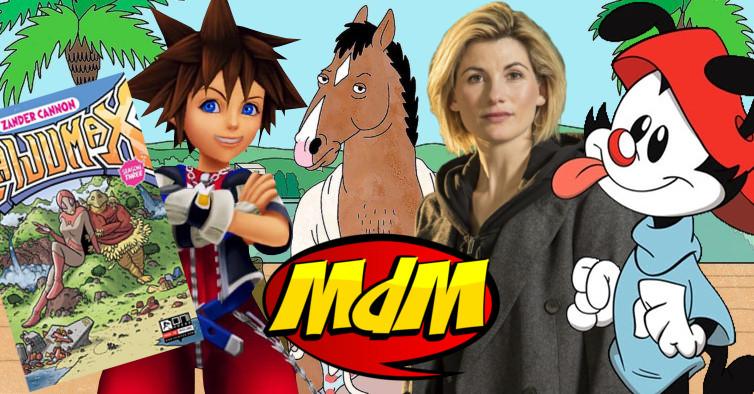Podcast MdM #487: Podcast que era pra ser escapista e good vibes mas fala de Bojack Horseman