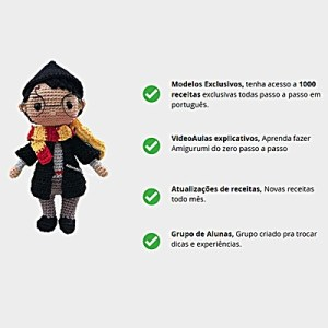 Curso de Amiguruimi Online - Bonecos e Bichinhos de Croche