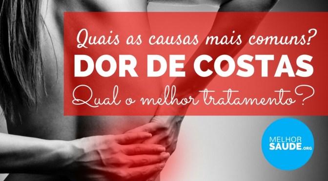 DOR DE COSTAS E LOMBALGIA MELHORSAUDE.ORG MELHOR BLOG DE SAUDE