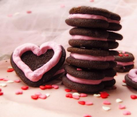 Os biscoitos recheados contêm muita gordura saturada