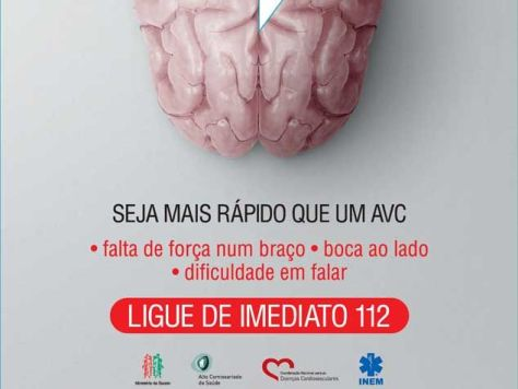 Se detectar ulguns dos sintomas descritos seja rápido e ligue 112 ( Portugal )