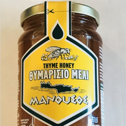 thyme honey from crete