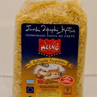 homemade greek pasta