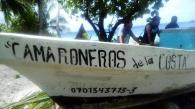 His fishing boat