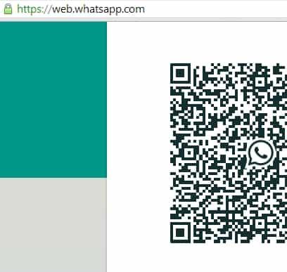 Whatsapp web-QR code