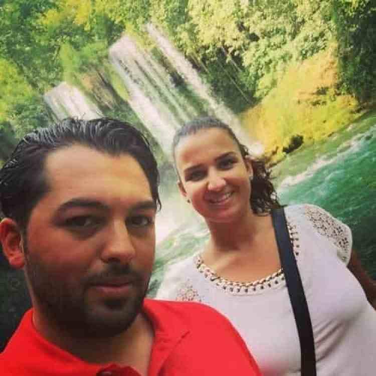 Wij bij de Düden watervallen