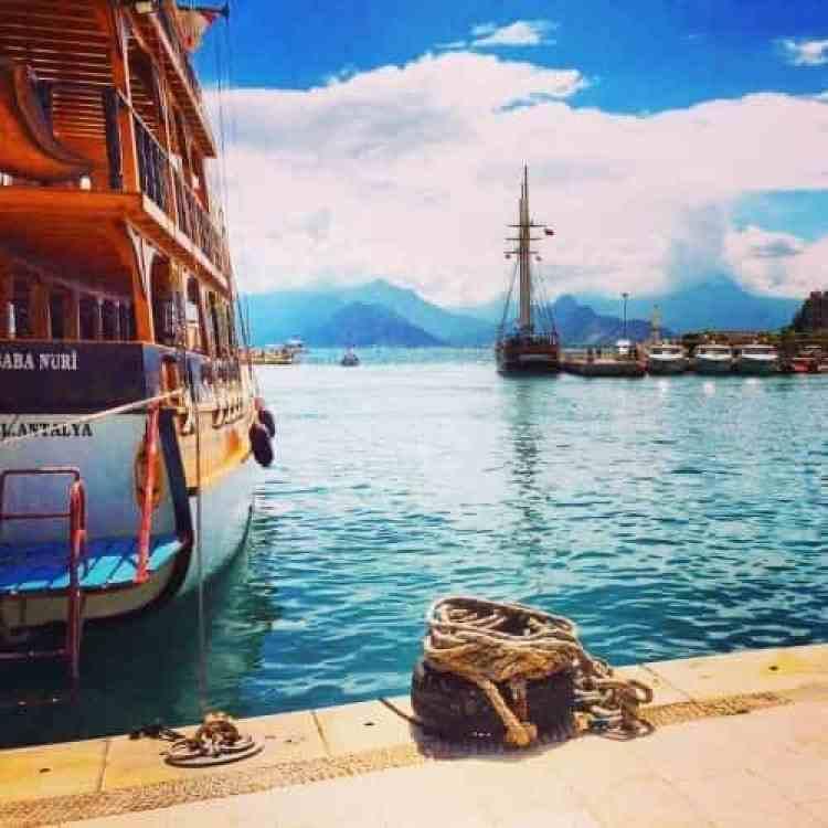 Cruiseschips haven Antalya