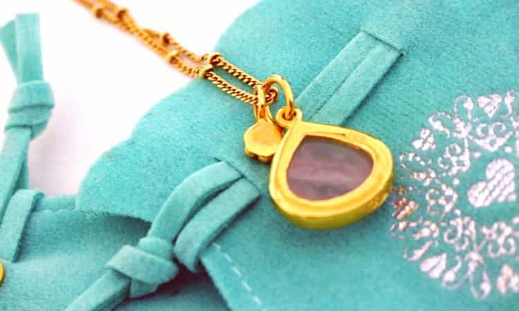 heart to get ketting- achterkant -stone of love