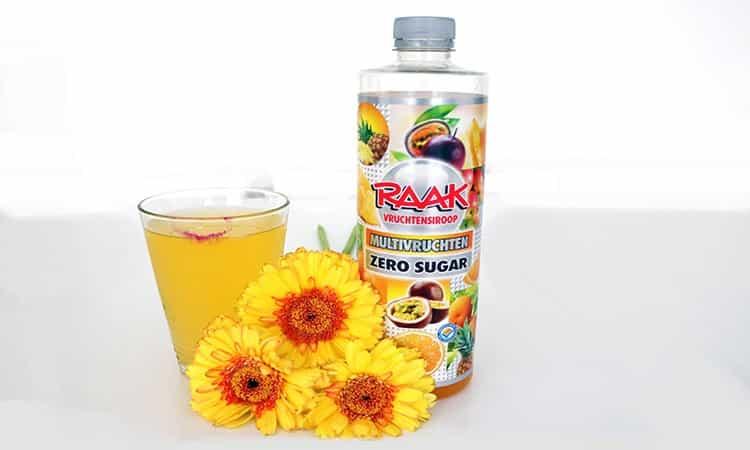 Raak zero sugar vruchtensiroop